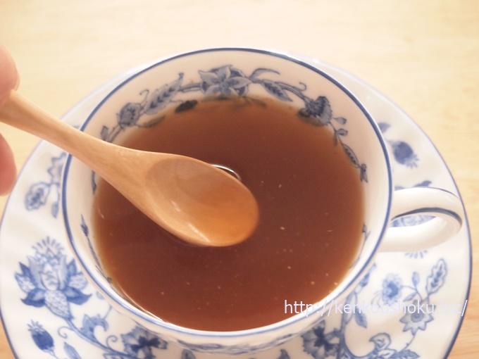 とろっと蒸ししょうが紅茶