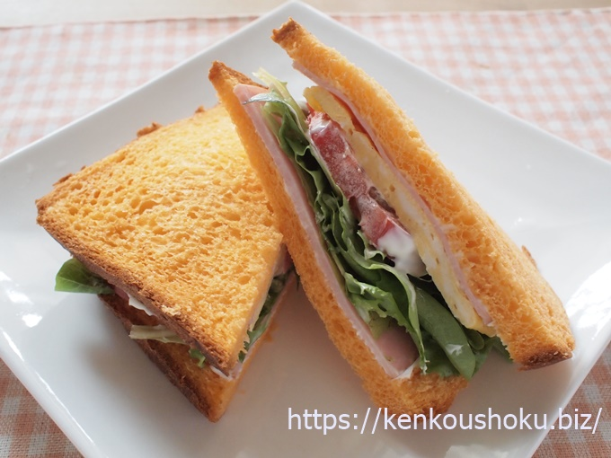 間食 サンドイッチ