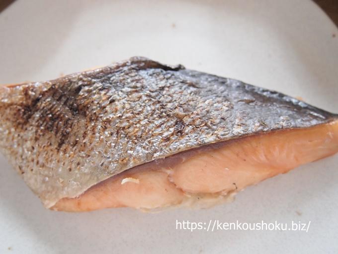 わんまいる-鮭の塩焼きセット
